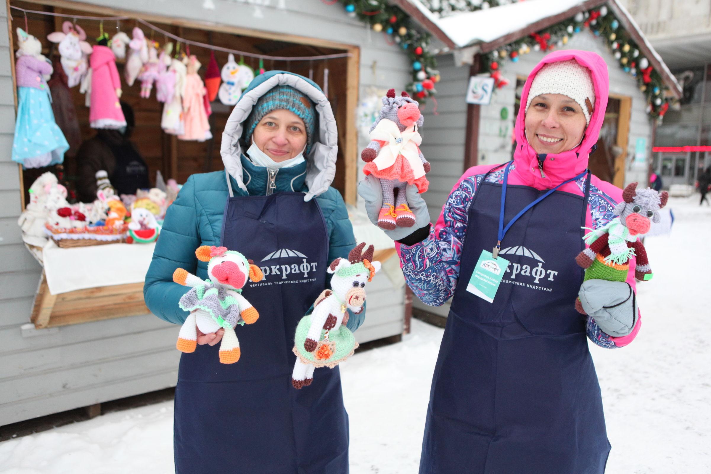 Город мастеров в канун Нового года. В Ярославле прошел фестиваль городских ремесел