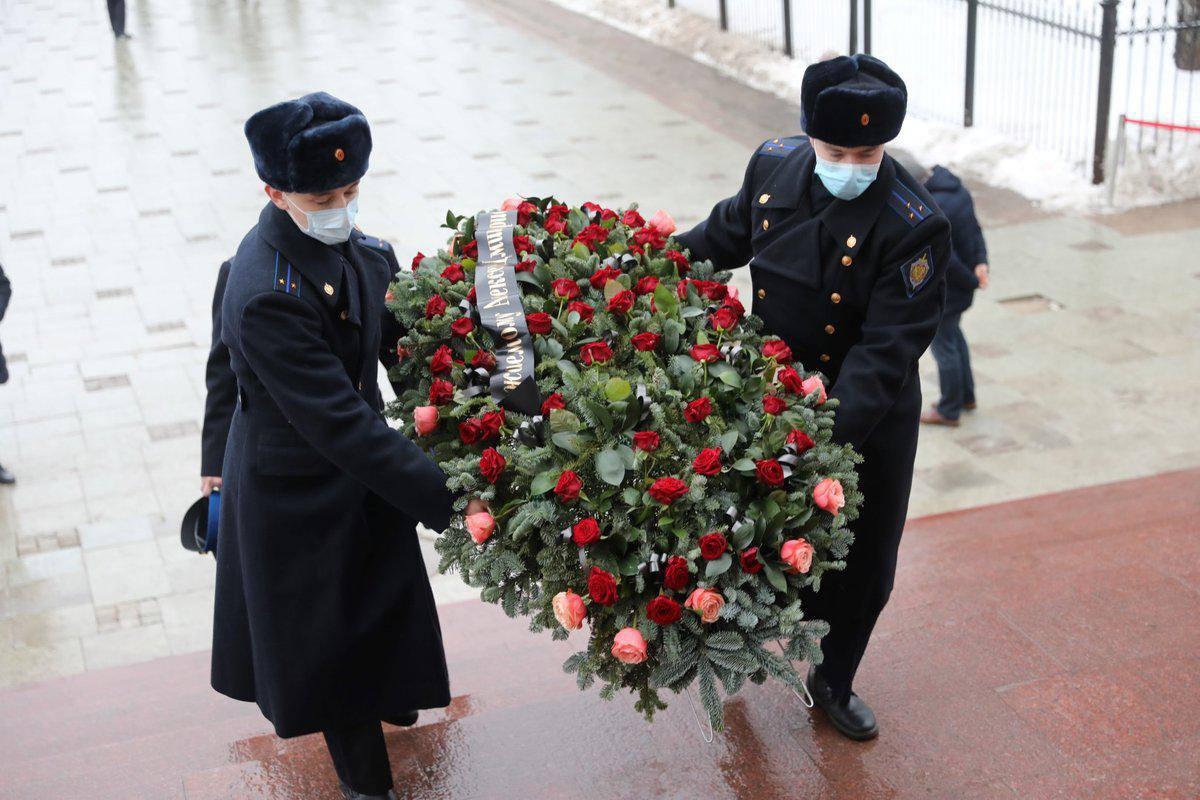В Ярославле прошла церемония прощания с погибшим председателем областной Думы