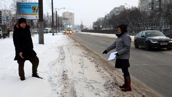 Ярославское отделение ОНФ проверяет дороги за Волгой перед перекрытием проспекта Машиностроителей