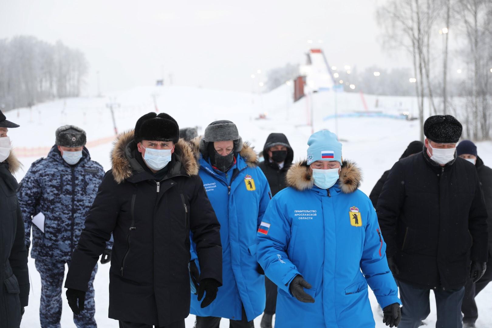 Дмитрий Миронов оценил готовность спорткомплекса «Подолино» к этапу Кубка мира по фристайлу