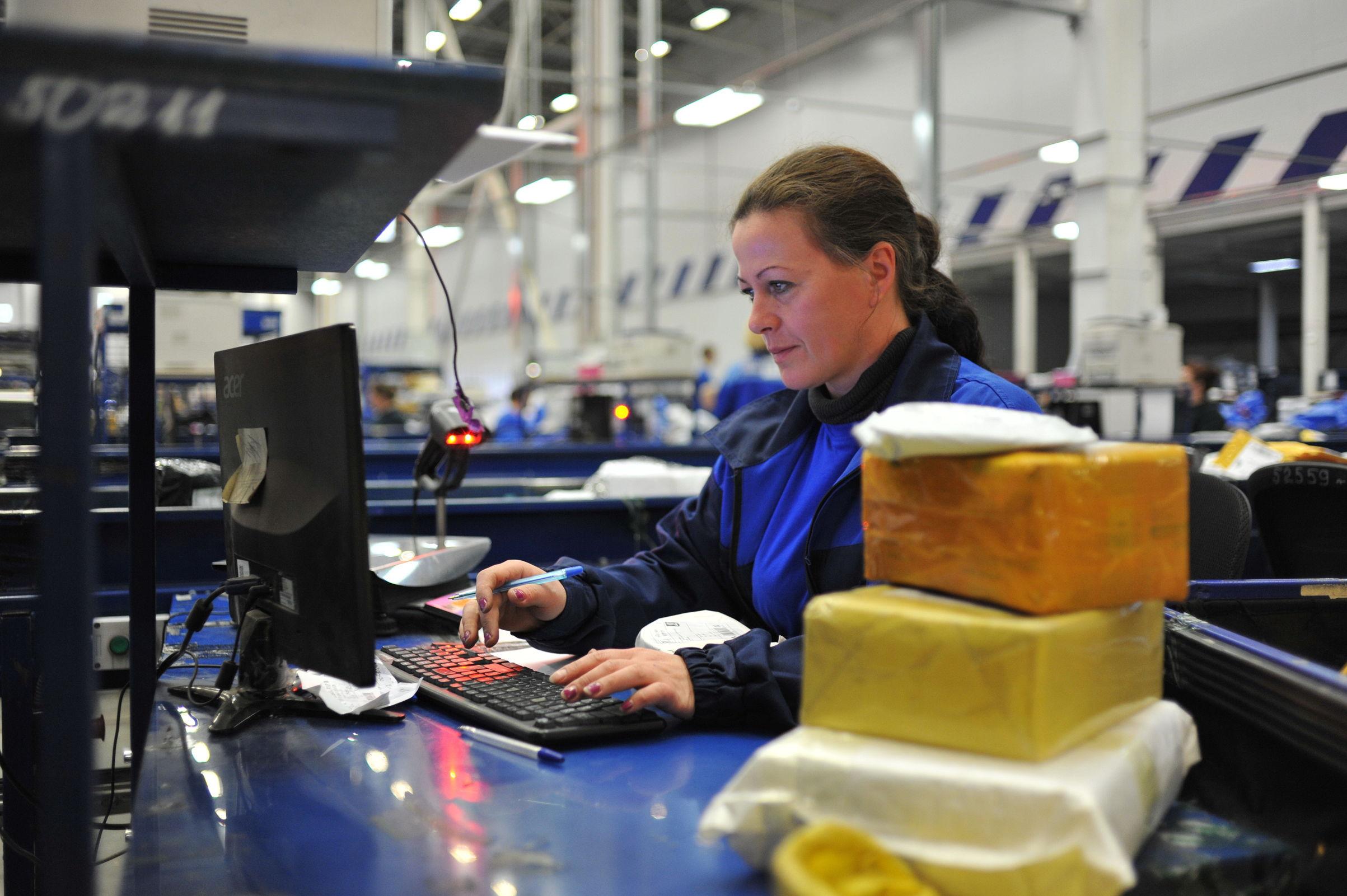 В новогодние праздники ярославские почтовики обработали свыше 200 тысяч отправлений