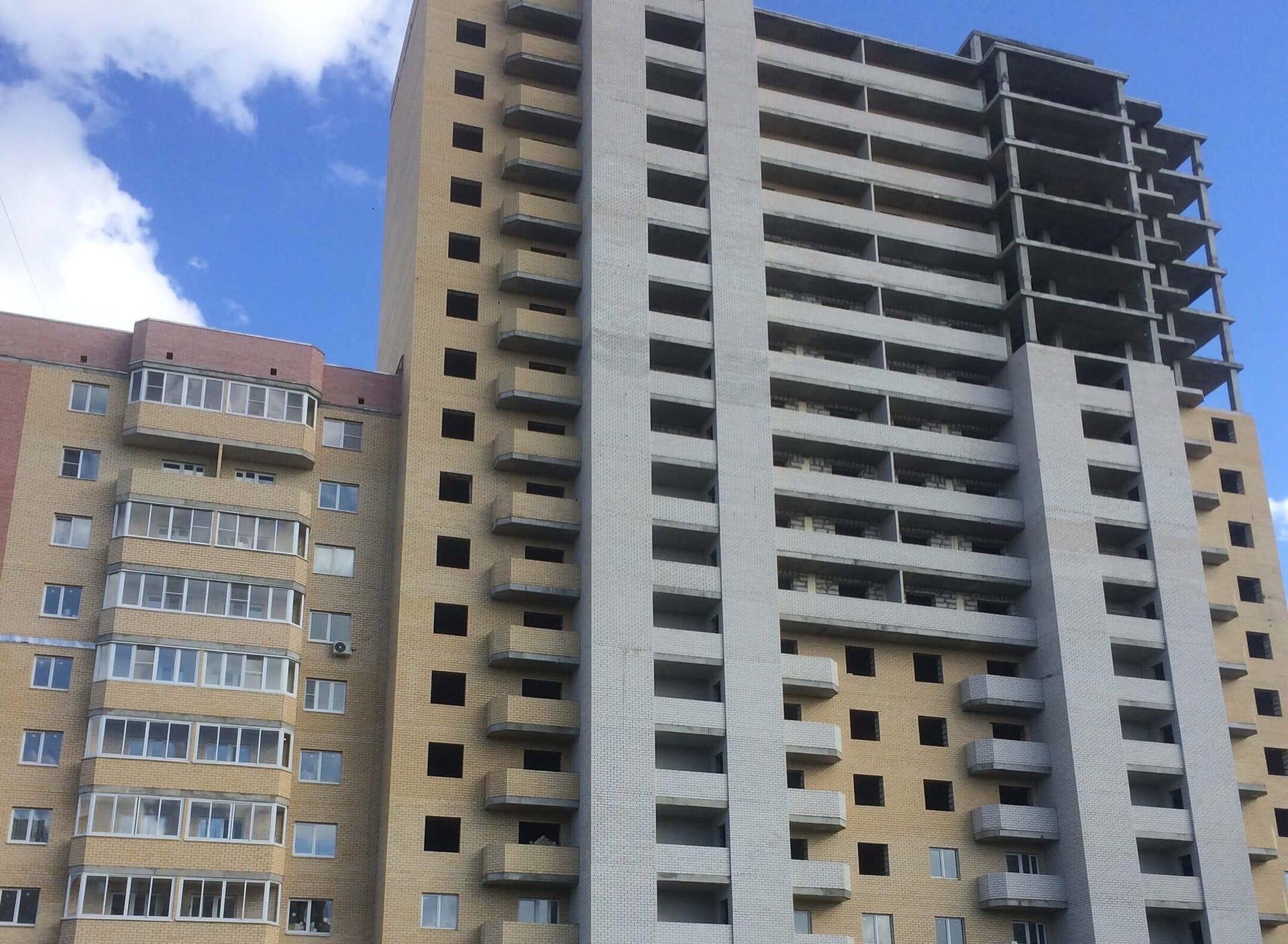 В Ярославле достроят проблемный дом на улице Саукова