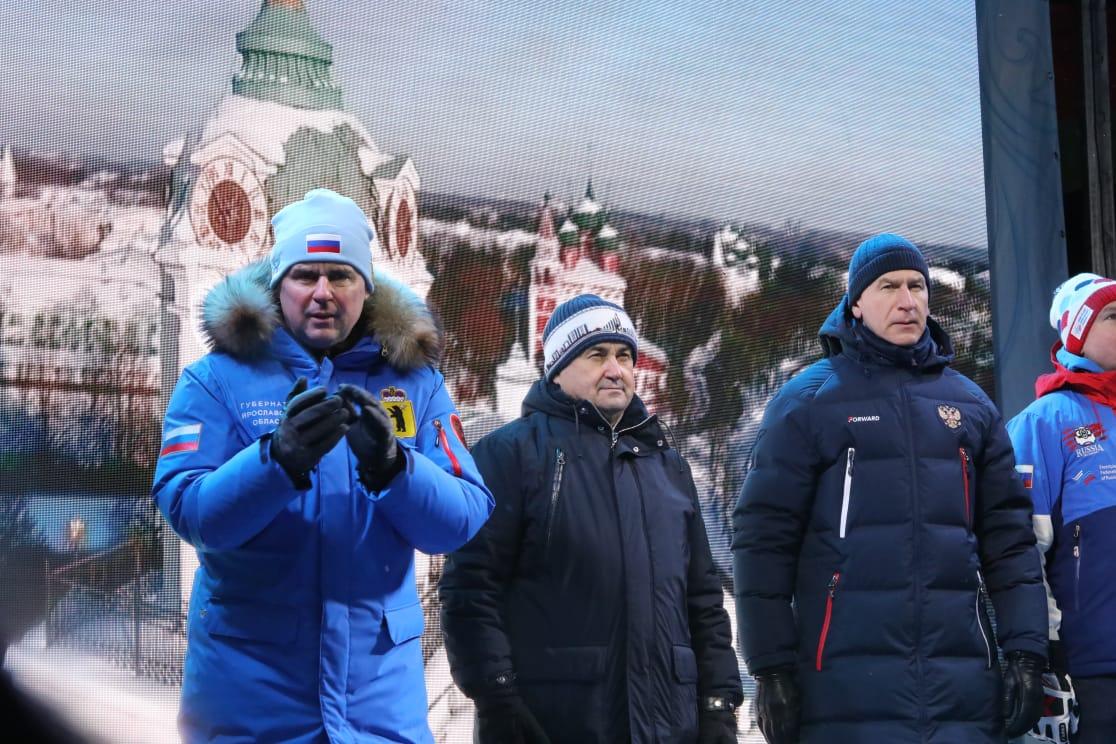Этап Кубка мира по фристайлу проходит под Ярославлем