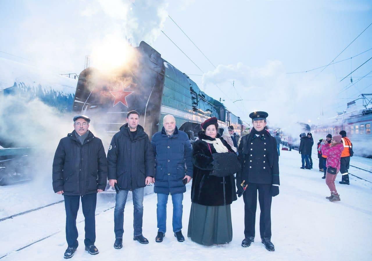 Из Ярославля в Рыбинск можно отправиться на ретропоезде