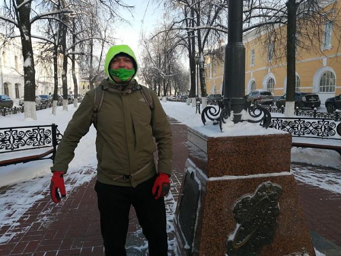 Рекордсмен России завершил серию полумарафонов в городах Золотого кольца России