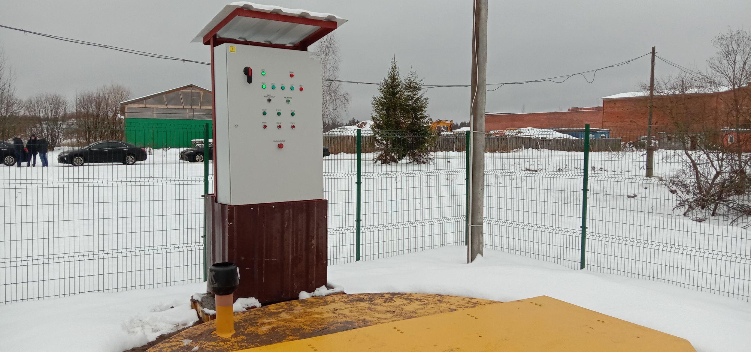 В селе Золоторучье Угличского района начался второй этап реконструкции очистных сооружений
