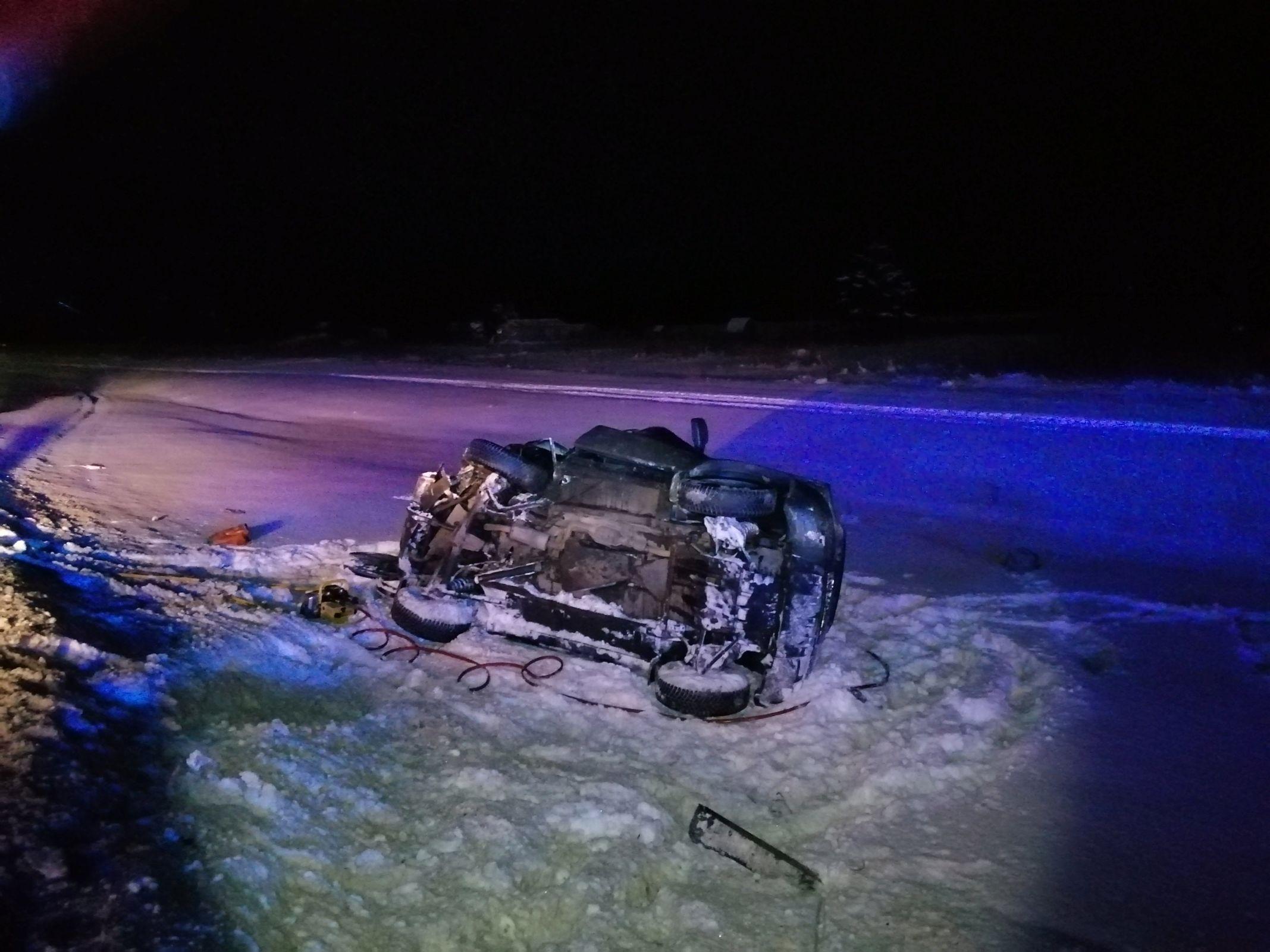 В тройном ДТП под Ярославлем пострадали два человека