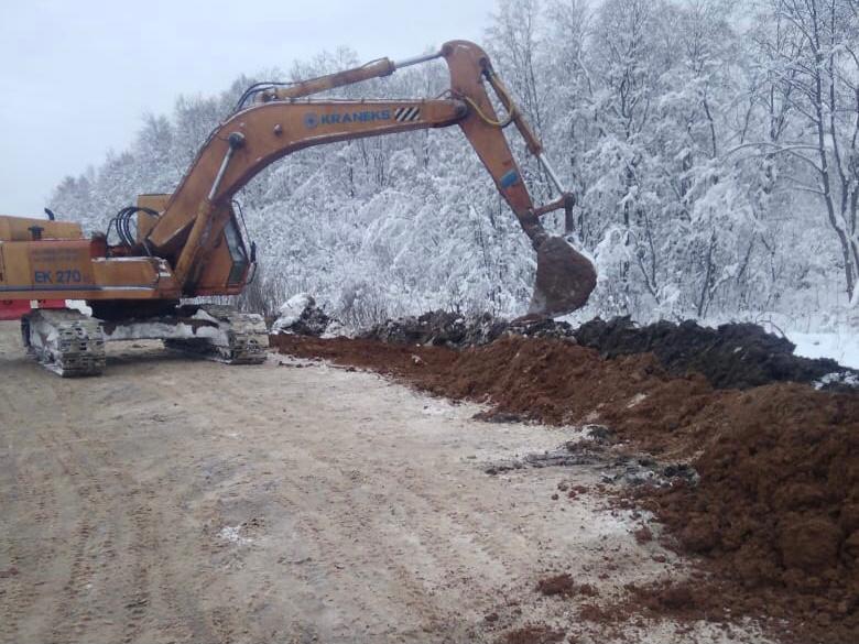 В Ярославской области начали ремонтировать дорогу Новый Некоуз – Родионово – поселок Октябрь