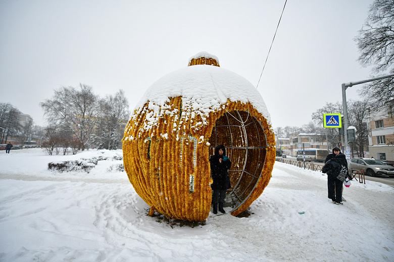 В Ярославле начали убирать новогодние украшения и декорации