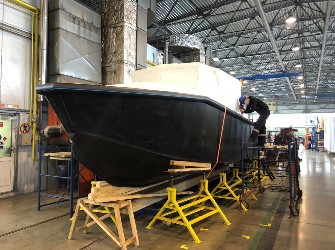 Инновационные катера будут производить в Тутаеве