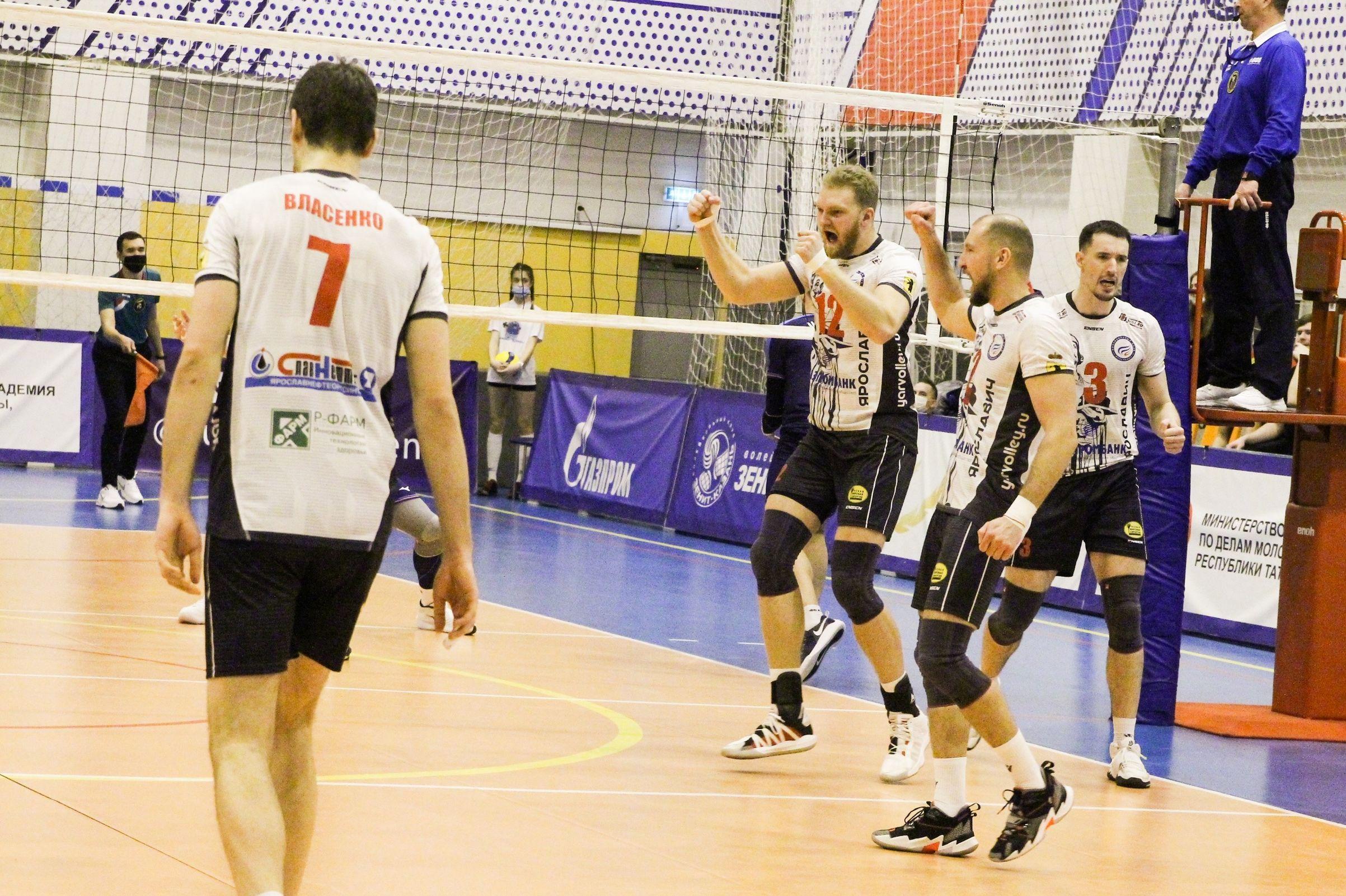 «Ярославич» занял первое место в западной конференции Высшей лиги «А»