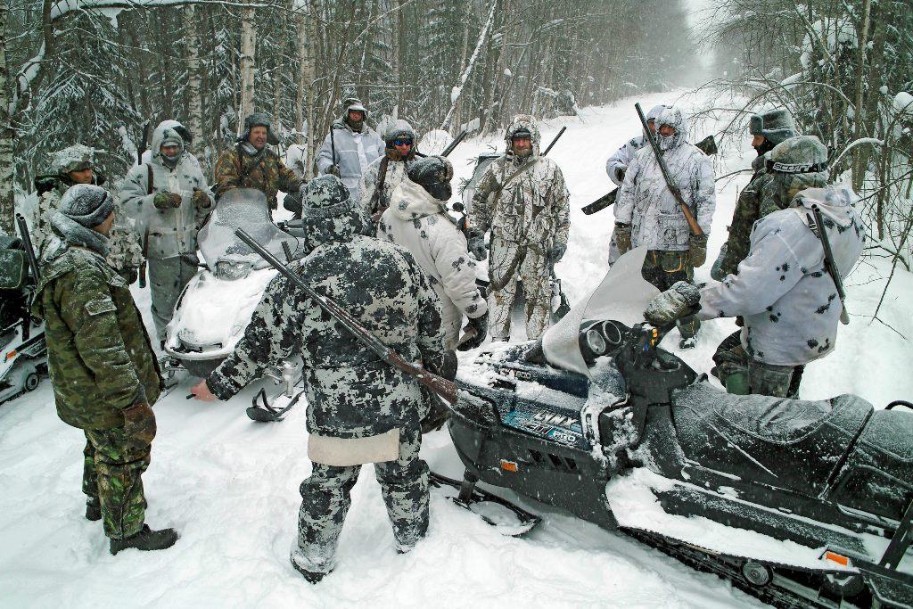В двух районах Ярославской области задержали браконьеров, застреливших лосей