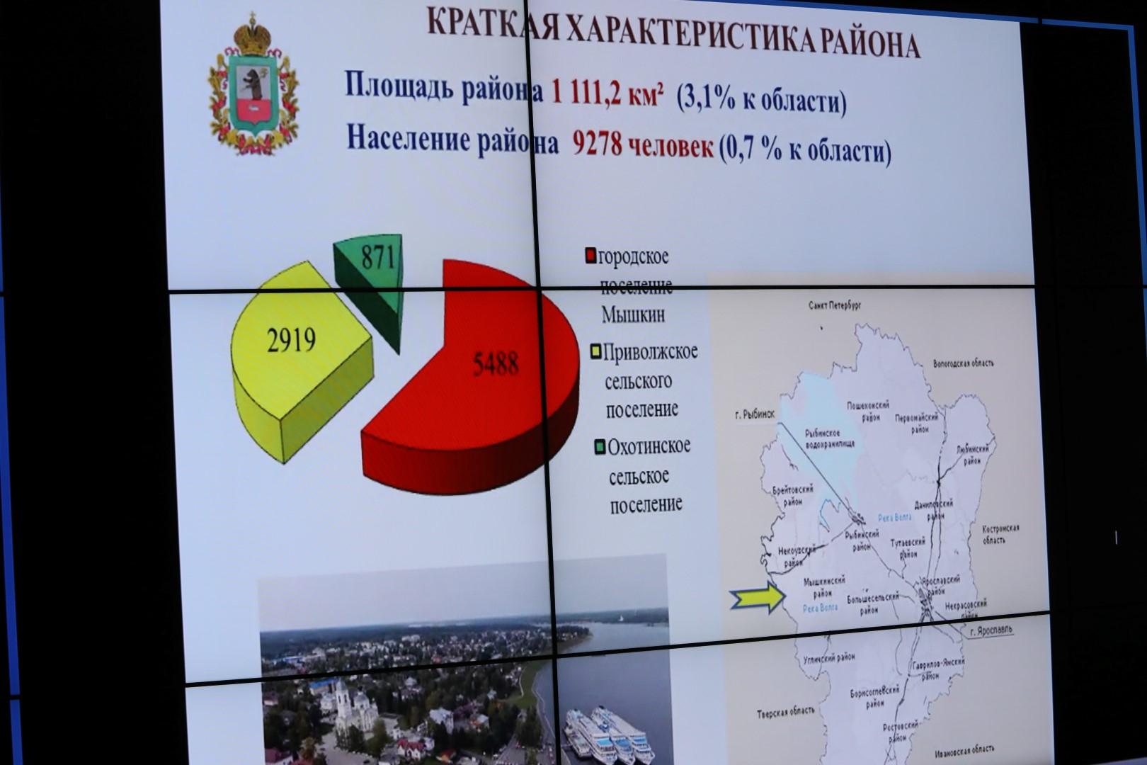Дмитрий Миронов: уровень газификации Мышкинского района будет повышен до 90%