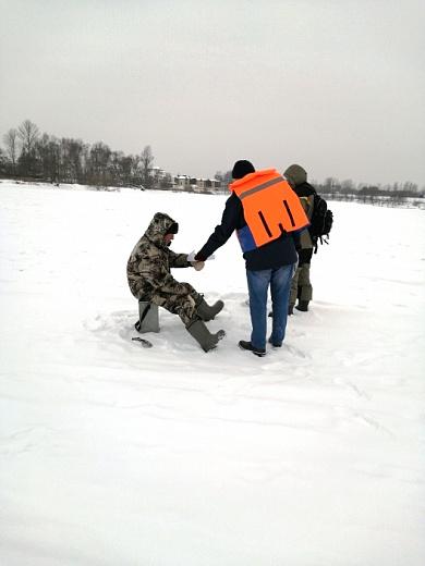 Выход на лед запрещен: спасатели продолжают рейды в Ярославле