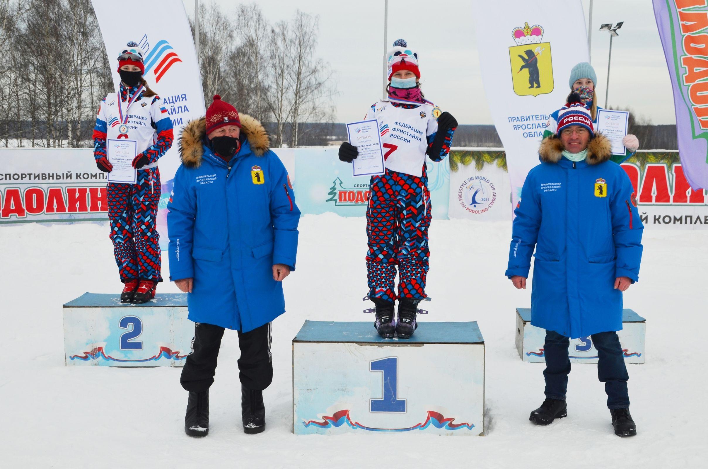 Ярославцы заняли первые места на этапе Кубка России по фристайлу