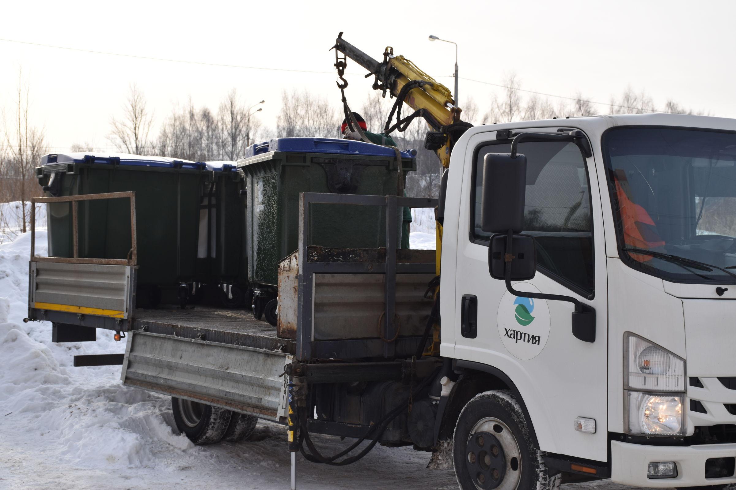 В Ярославской области в этом году установят более 1,1 тысячи мусорных контейнеров