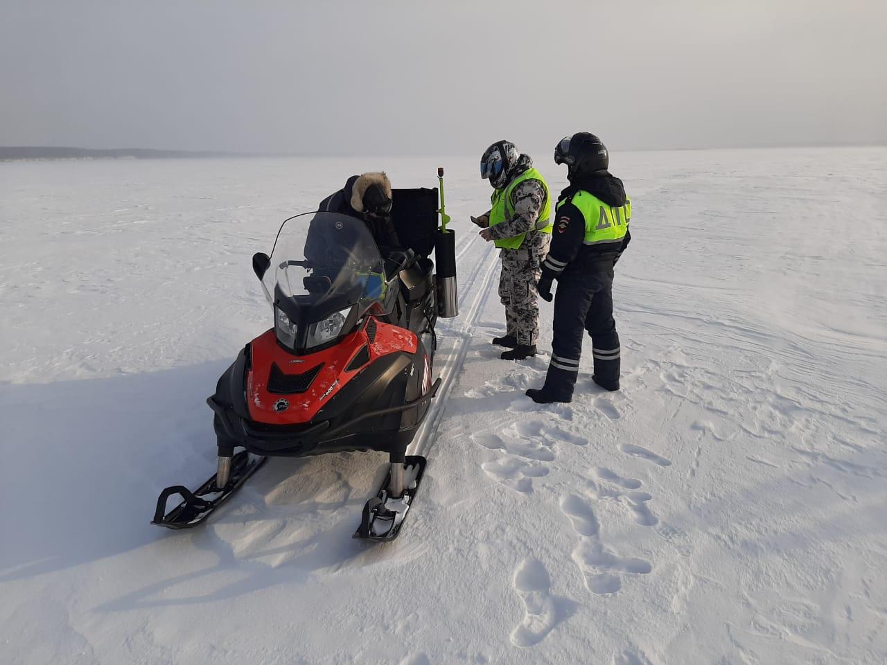 Более 60 нарушителей привлекли к ответственности в рамках операции «Снегоход-2021»