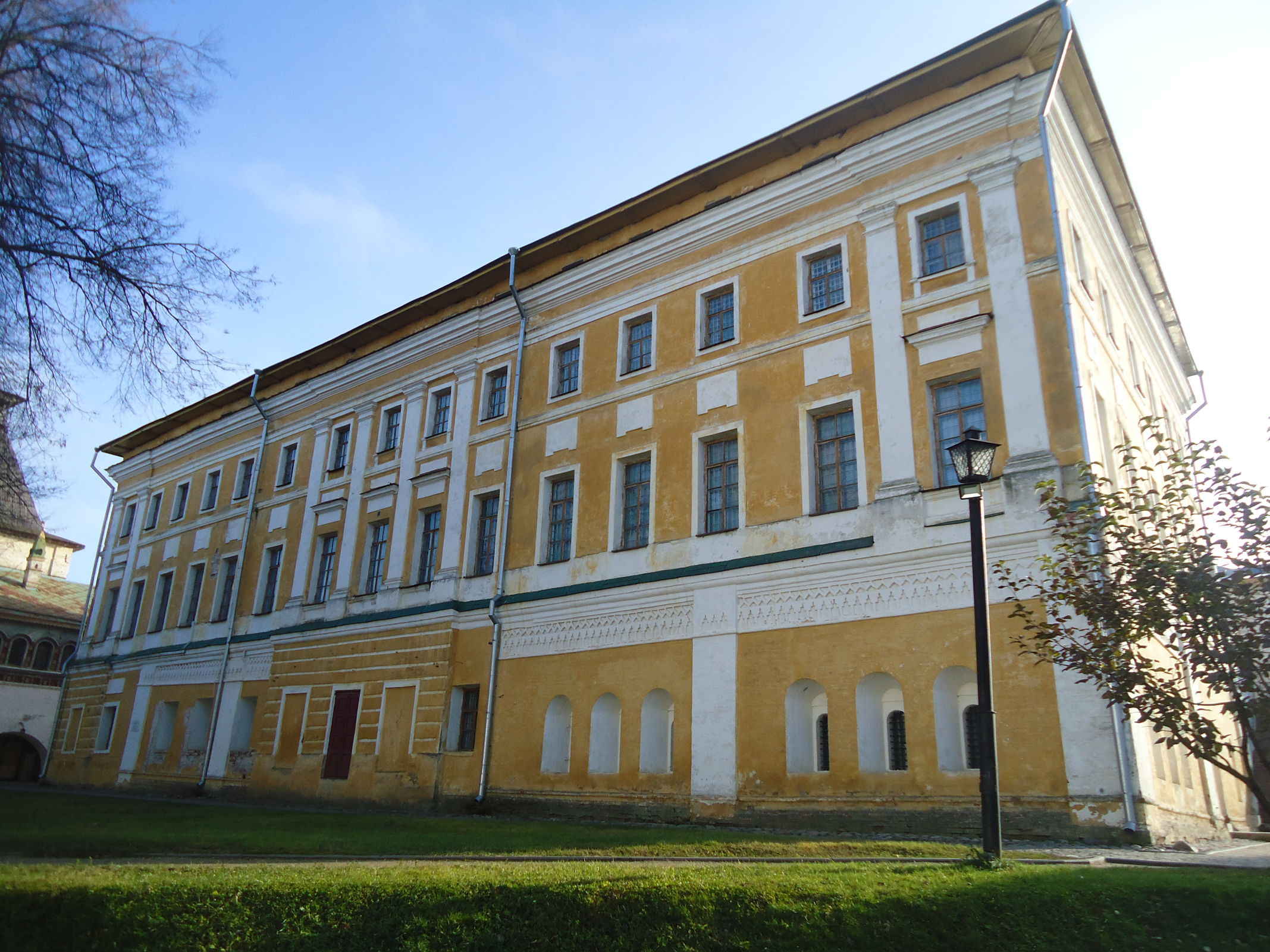 Самуилов корпус Ростовского кремля будет отреставрирован