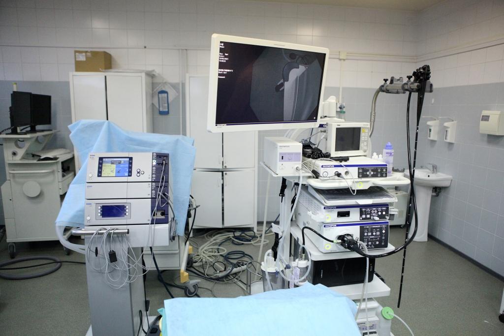 Новое оборудование позволит врачам областной онкобольницы повысить качество лечения рака желудочно-кишечного тракта