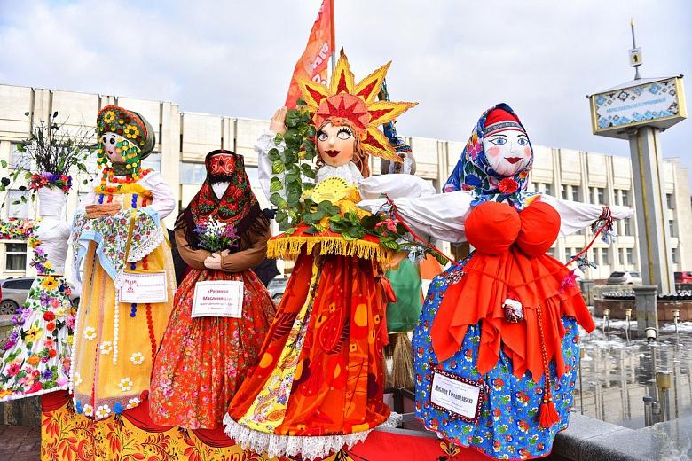В Ярославле начался прием заявок на конкурс масленичных кукол