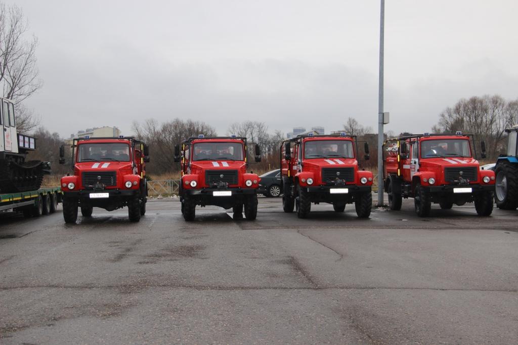 Более 500 единиц техники будет подготовлено для работы в лесах в условиях пожароопасного сезона
