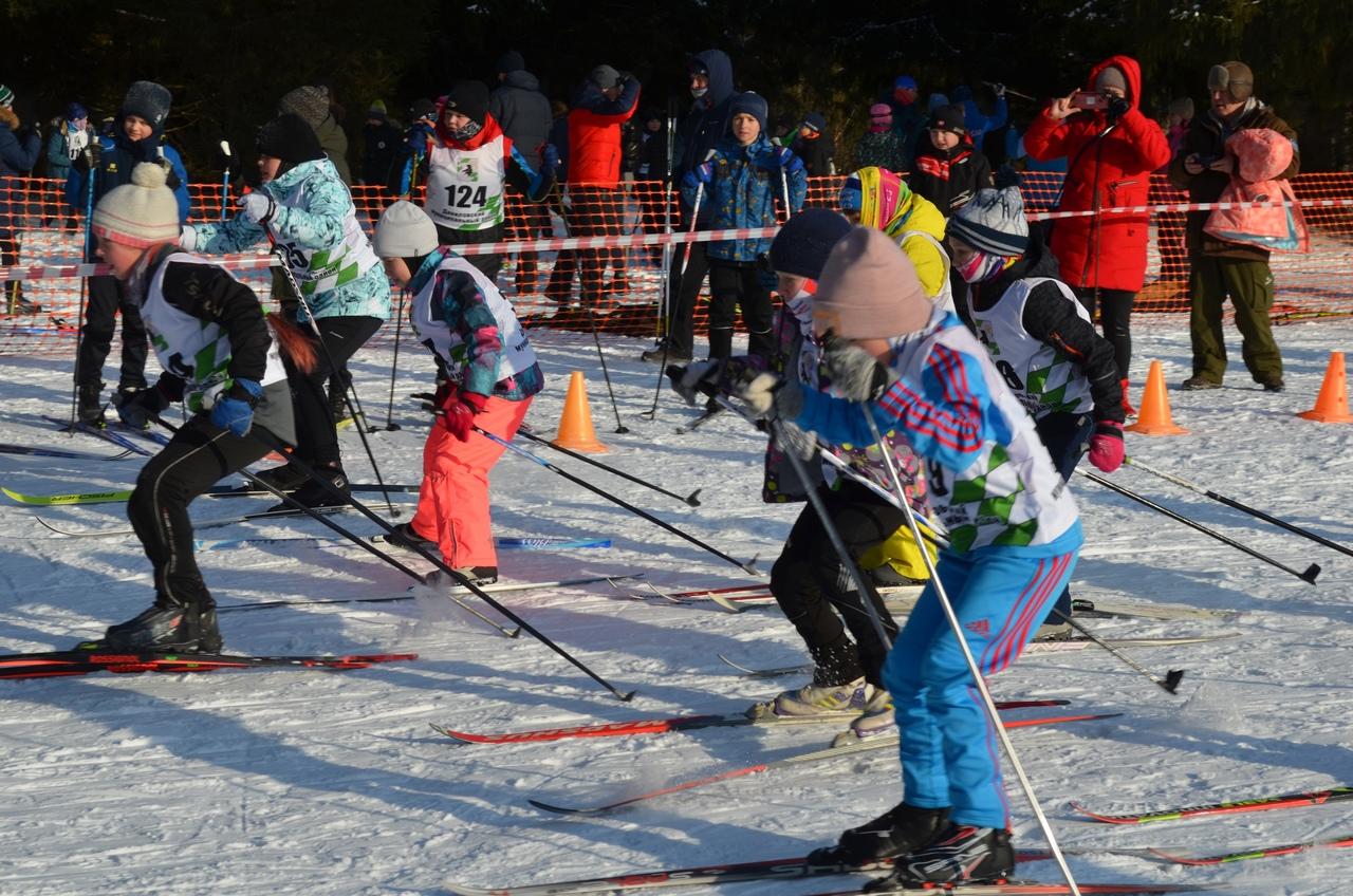 В Даниловском районе прошли лыжные гонки