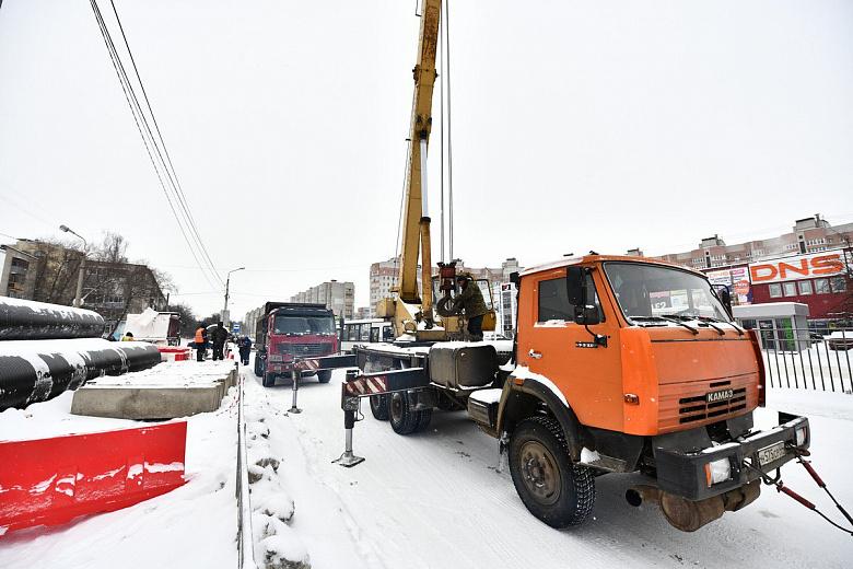 В Ярославле продлили срок первого этапа работ на проспекте Машиностроителей