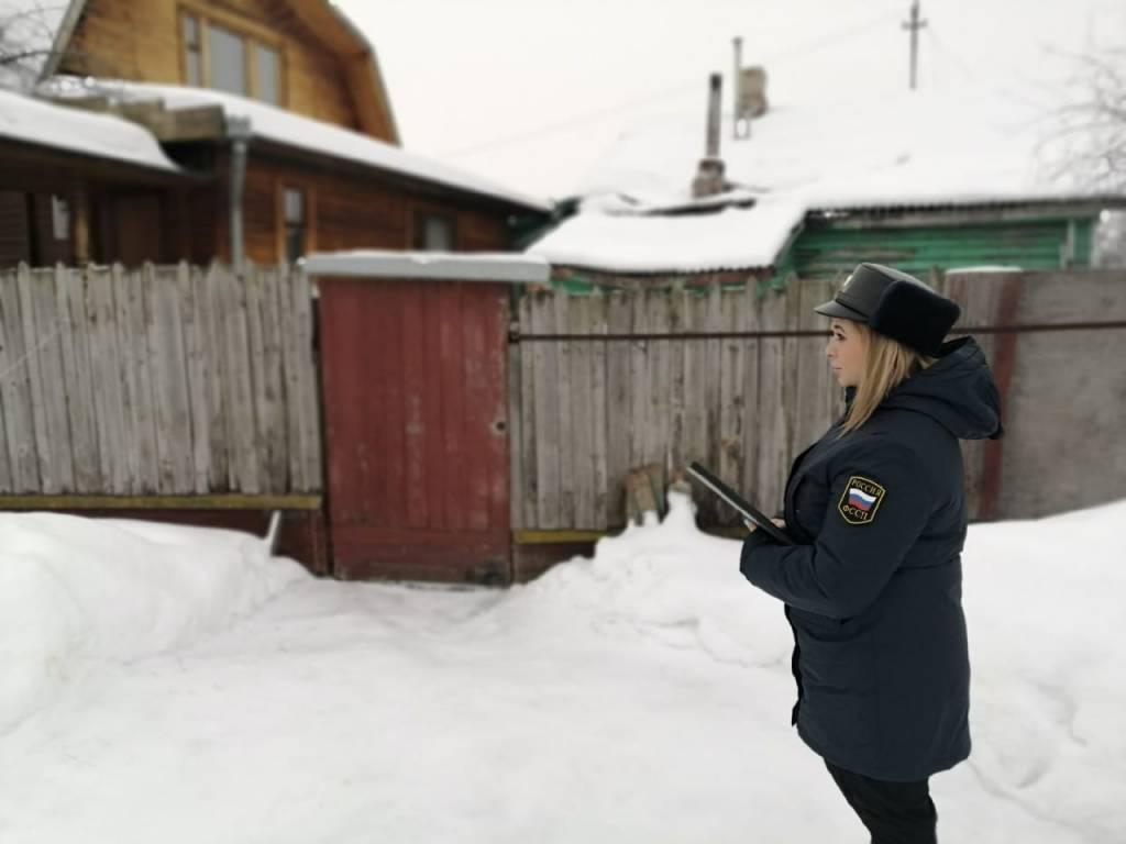 В Ярославле судебные приставы снесли незаконно построенный частный дом