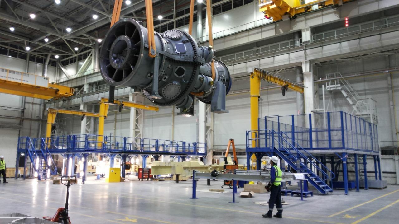 Крупный инвестиционный проект по производству газовых турбин реализован в Рыбинске