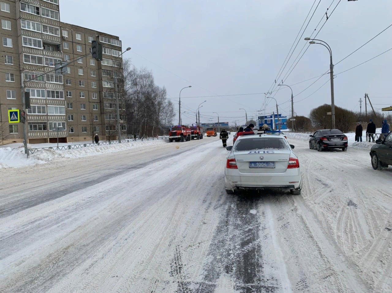 В Ярославской области в ДТП пострадали две женщины-пешехода