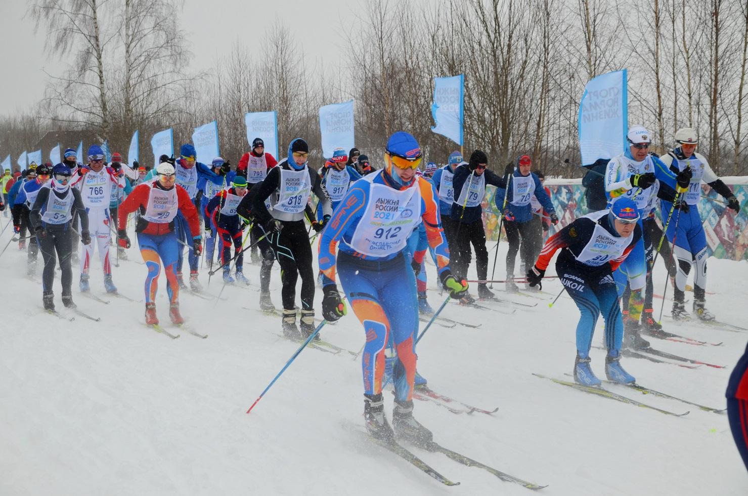 Кому испытание, кому – разминка. Лыжные соревнования в Ярославской области проходят под давлением стихии