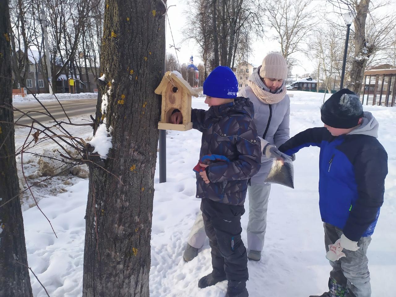 Более 5 тысяч кормушек развесили участники акции «Покормите птиц зимой» в Ярославской области