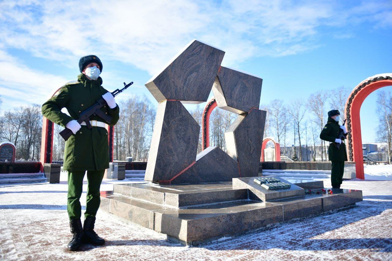 В Ярославле прошли праздничные мероприятия, посвященные Дню защитника Отечества