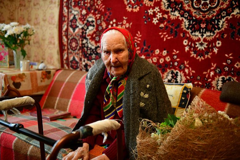 Жительница Ярославля отметила свой 100-летний юбилей