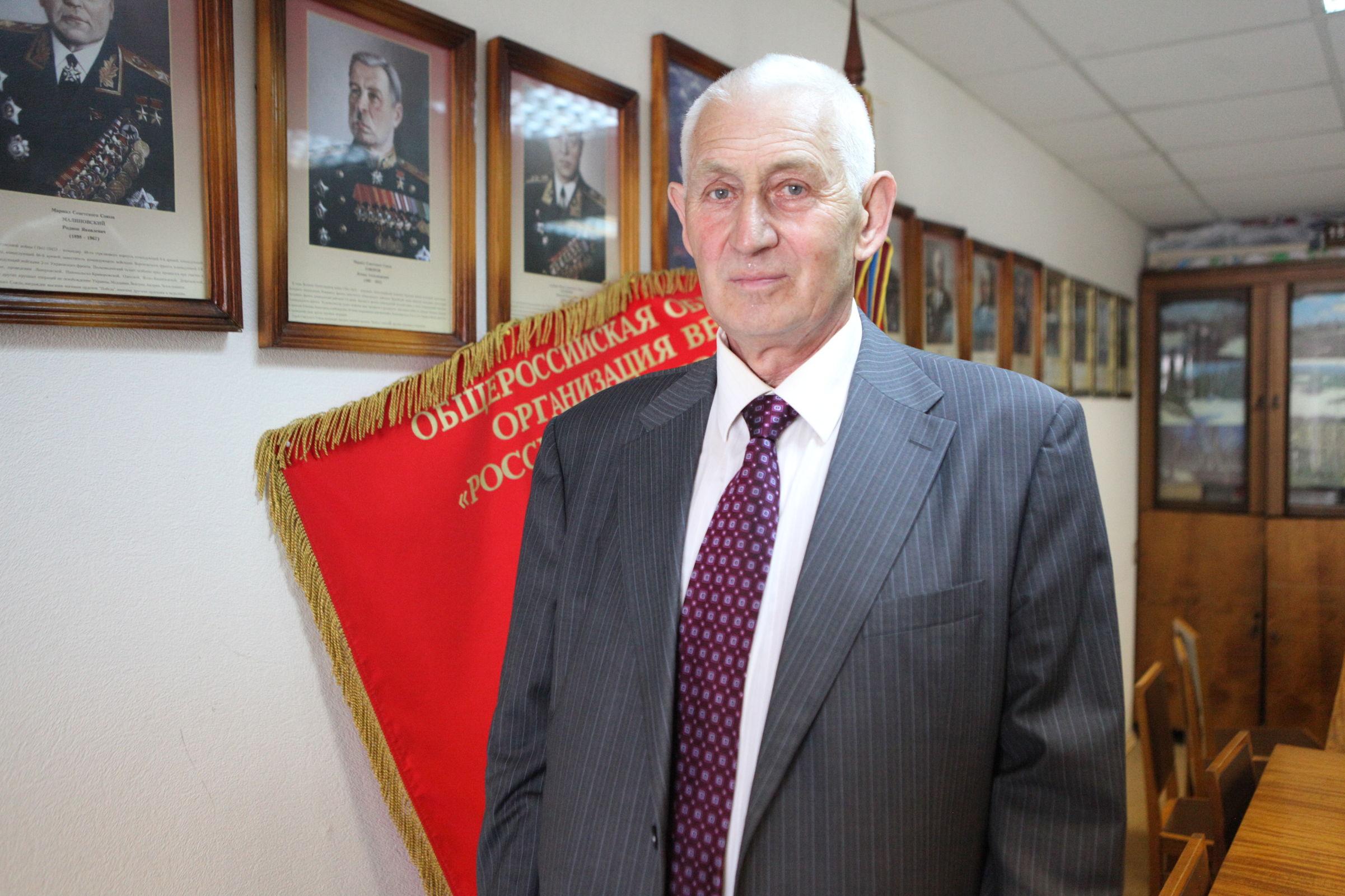 Председатель областной общественной организации ветеранов Евгений Болтов рассказал о работе ветеранских организаций