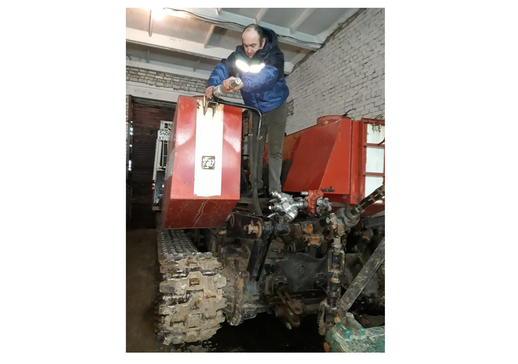 В Ярославской области готовят спецтехнику к пожароопасному сезону в лесах