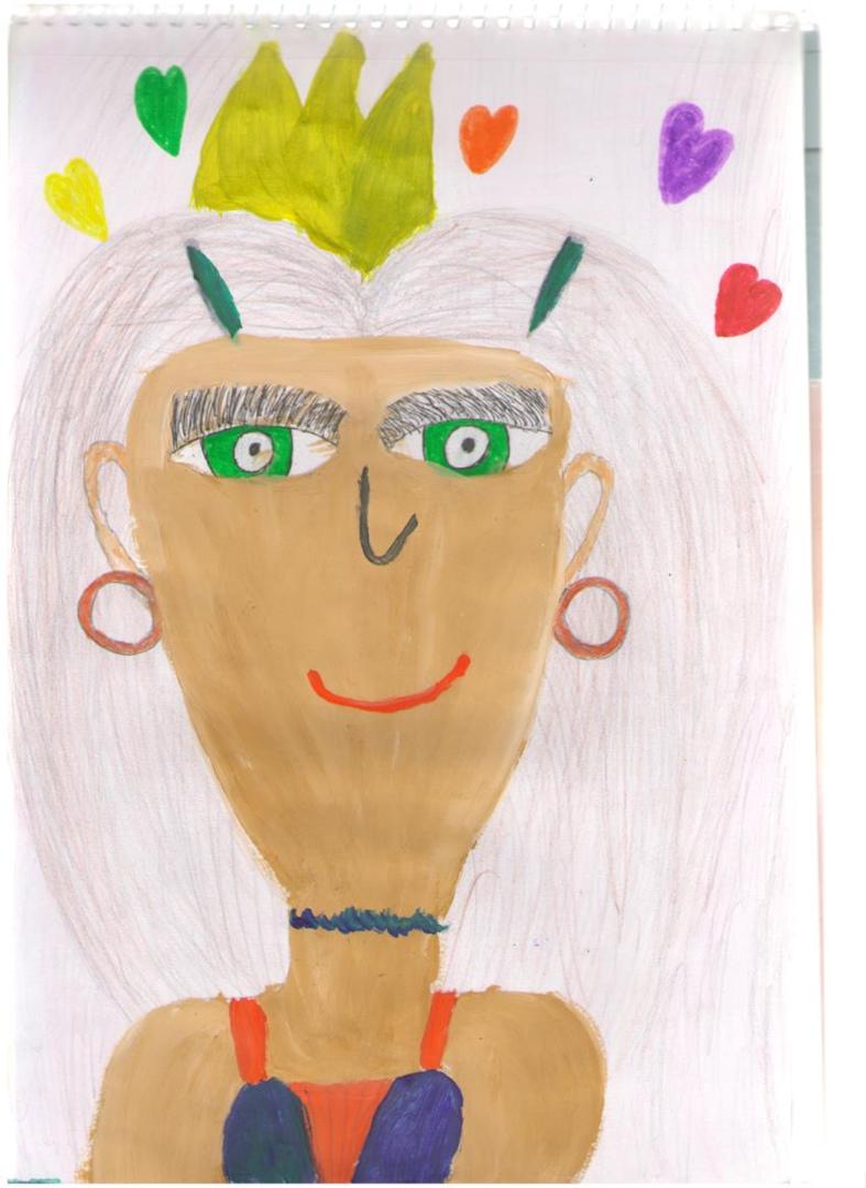 В Ярославской области дети участвуют в акции «Портрет любимой мамы»