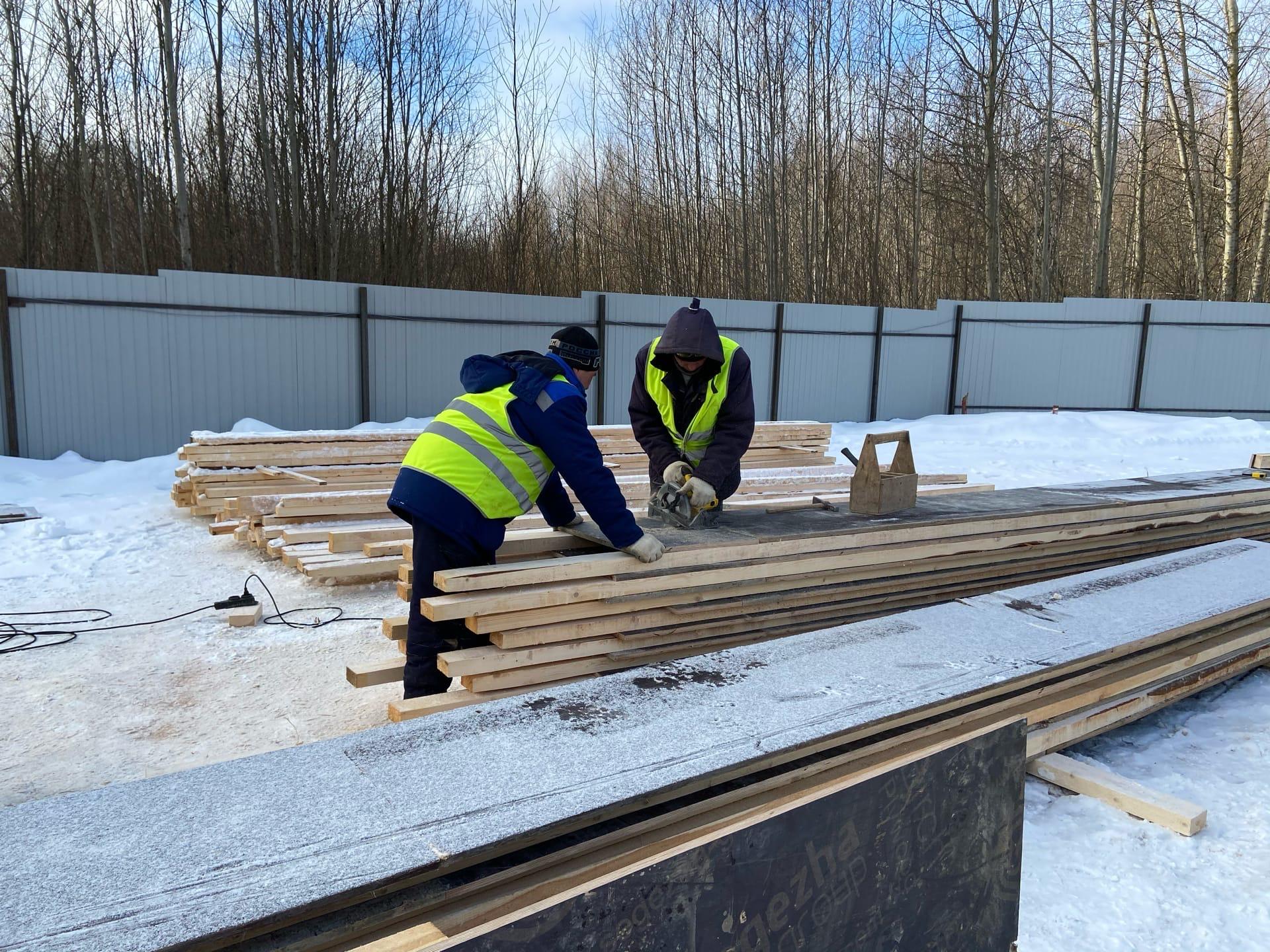Два детских сада строят на улице Дядьковской в Ярославле