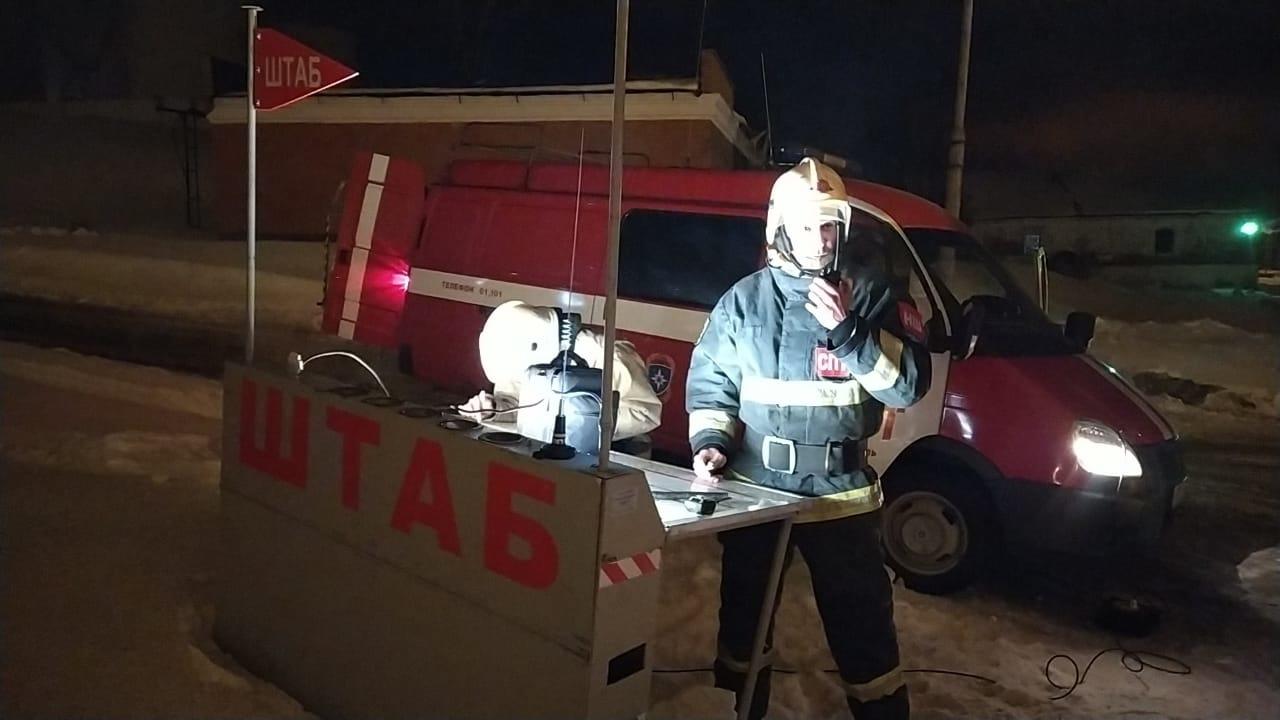 В Ярославской области при пожаре на заводе никто не пострадал