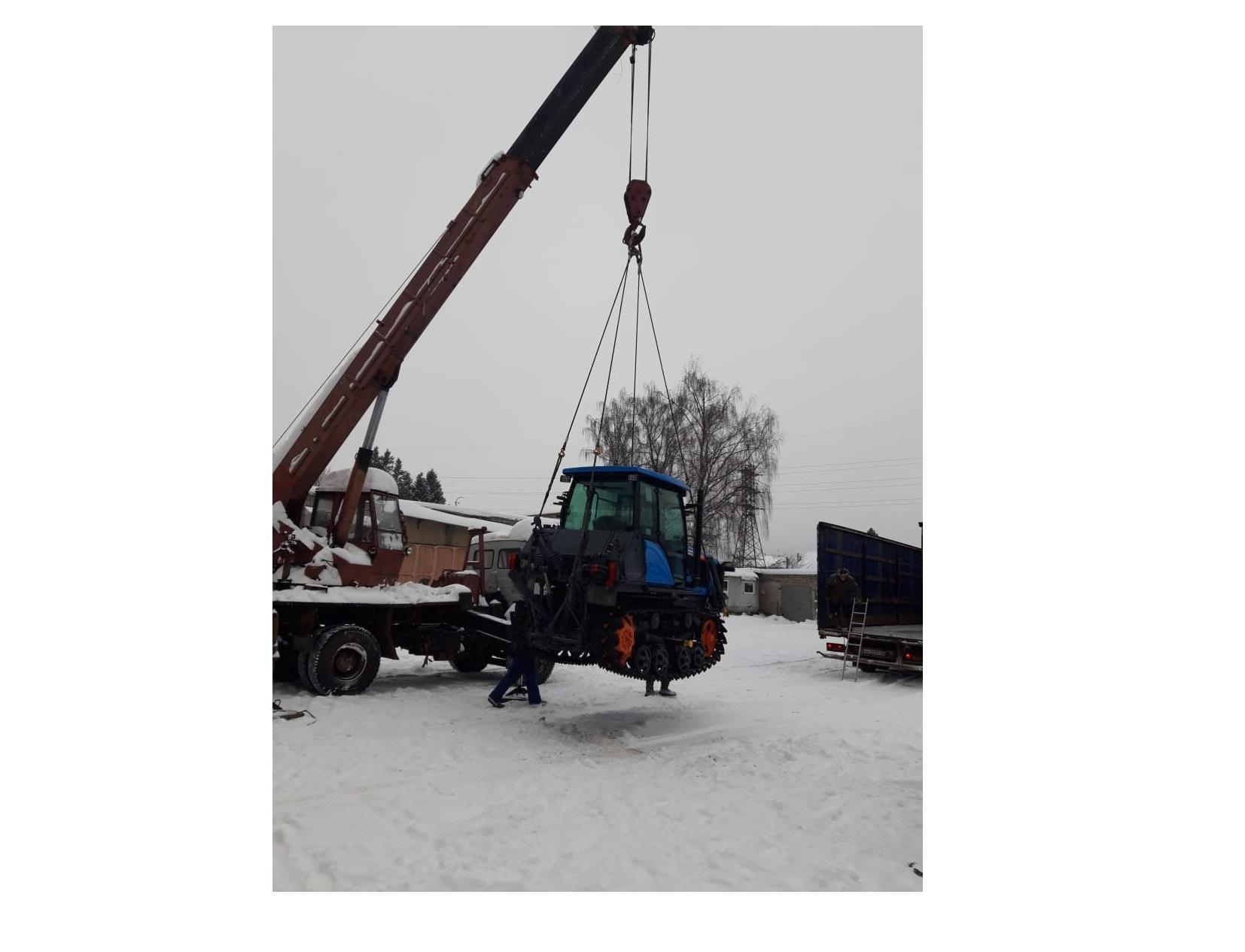 В Ярославскую область начала поступать новая лесохозяйственная техника