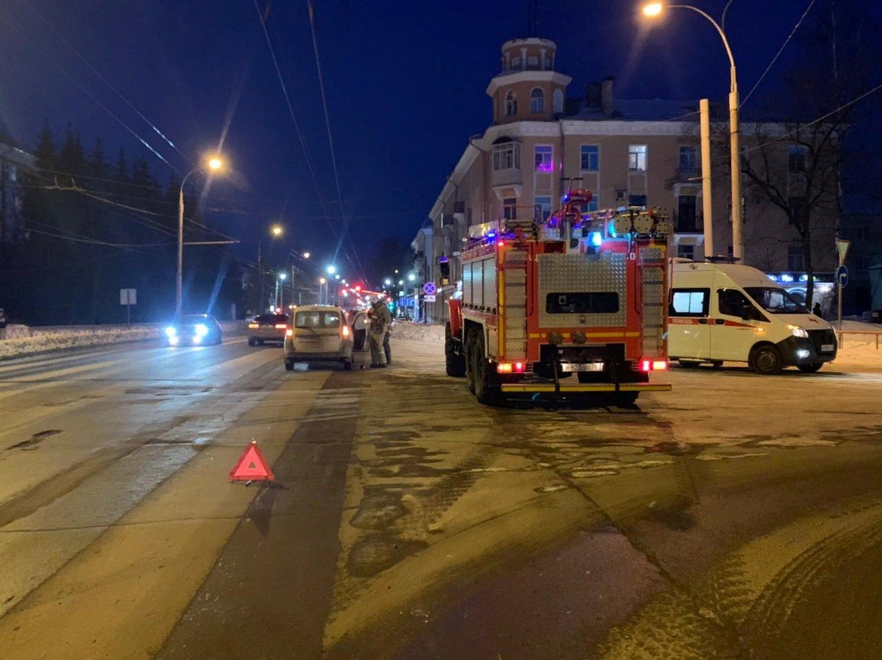 В Рыбинске водитель легковушки сбил пешехода