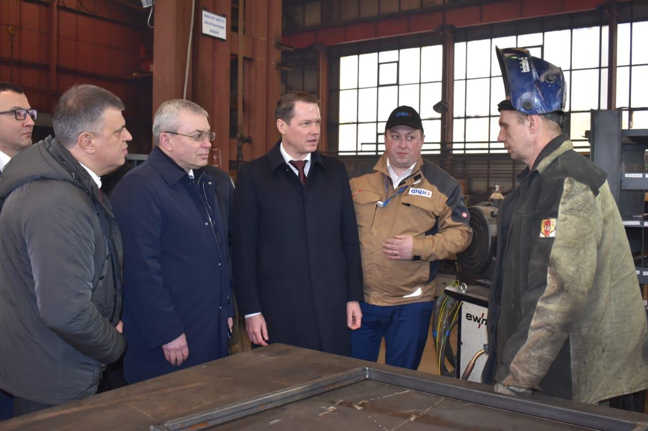 Рыбинский завод «Раскат» выпустил первую партию мини-погрузчиков