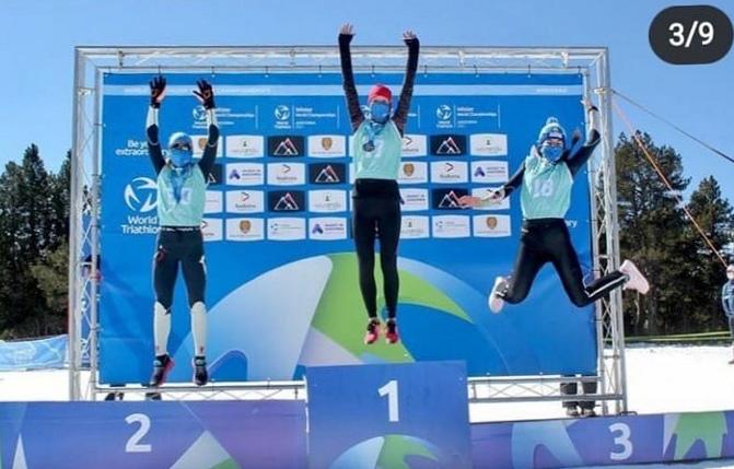 Ярославские триатлонисты завоевали две медали чемпионата мира