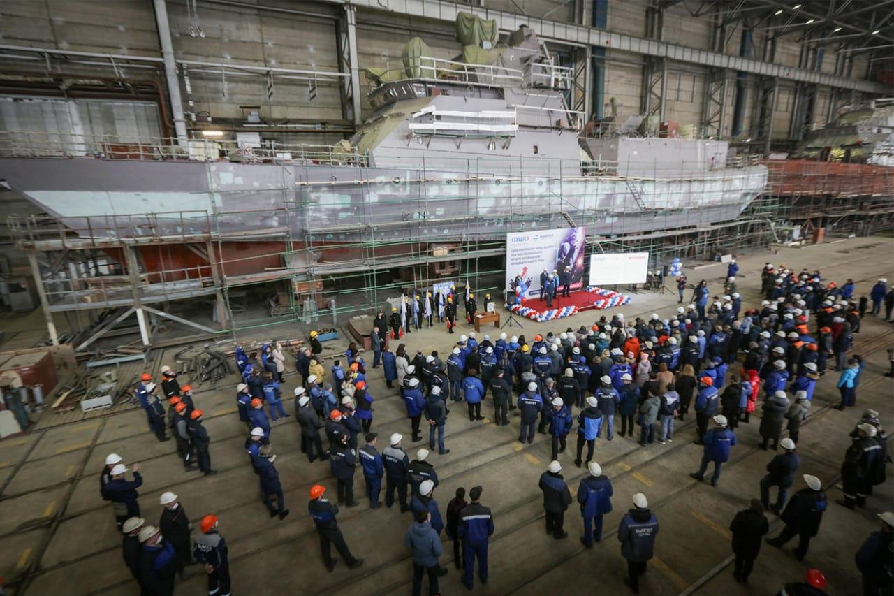 Судостроительный завод Рыбинска в числе 35 предприятий страны получит расширенную поддержку в рамках нацпроекта