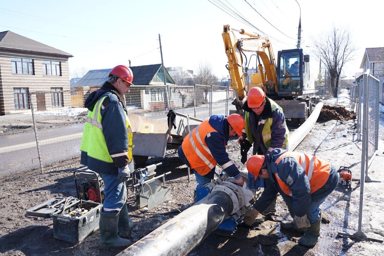 Более 5 километров сетей заменит «Ярославльводоканал» в рамках нацпроекта