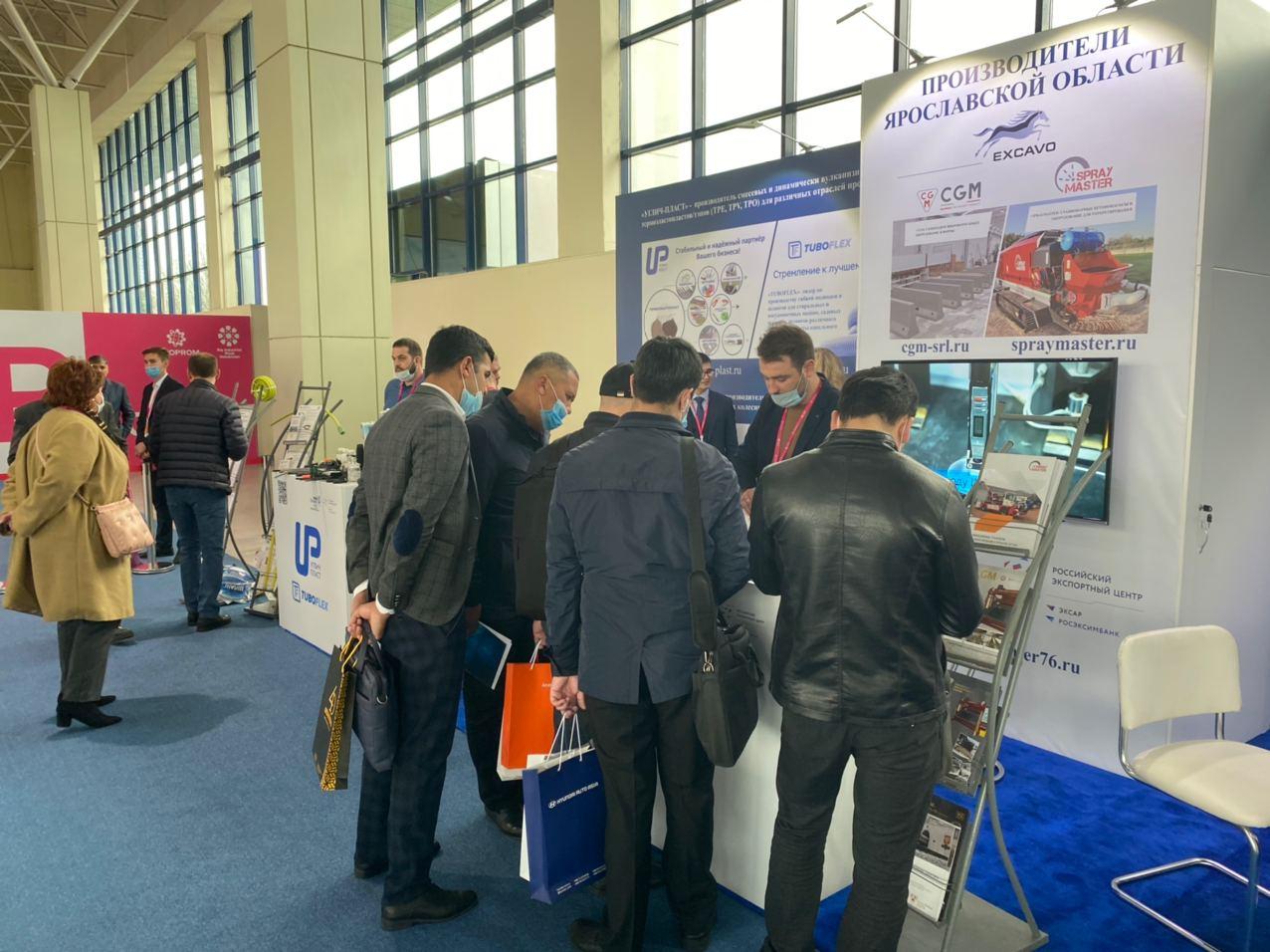 Пять компаний представляют Ярославскую область на выставке «Иннопром» в Узбекистане