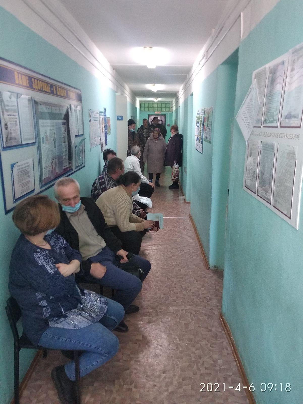 В преддверии Всемирного дня здоровья выездную противоковидную вакцинацию начала Бурмакинская больница №1
