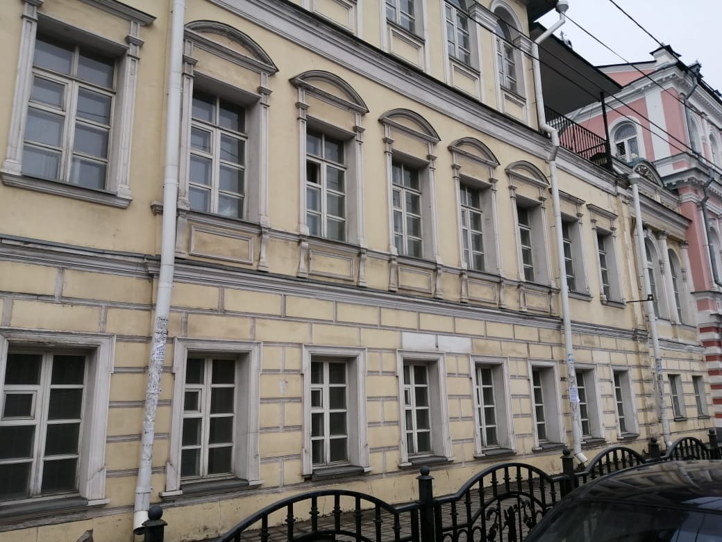 Завершены ремонтные работы на доме усадьбы Лопатиных в центре Ярославля