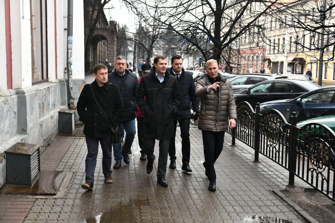 Мэрия Ярославля планирует пересмотреть график движения транспорта в Торговом переулке