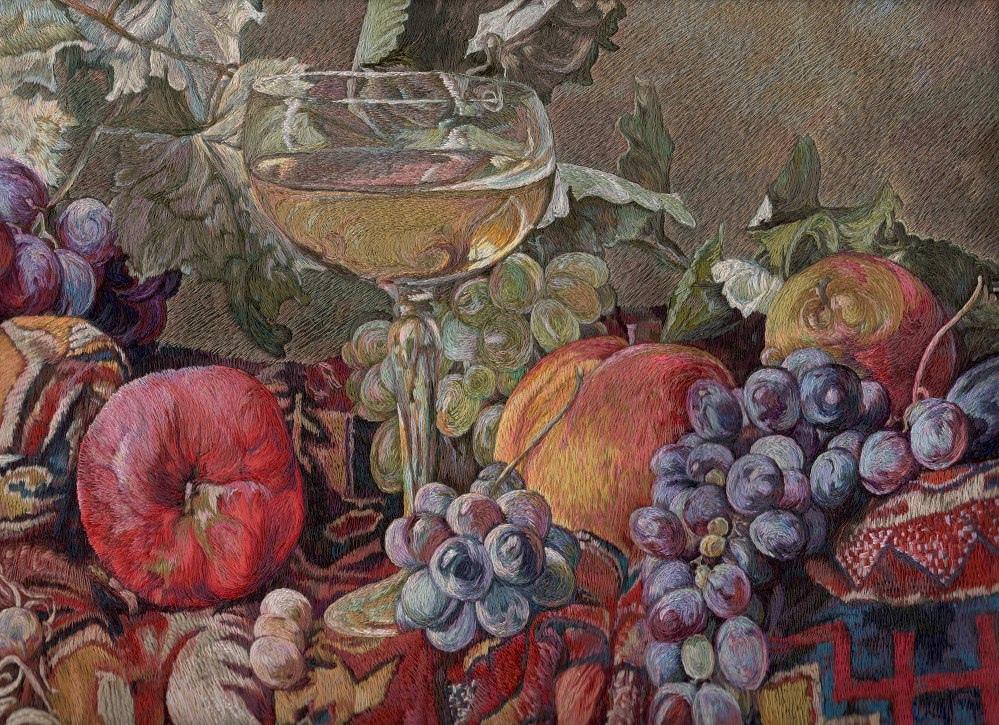 В шелках и золоте. Житель Ярославской области возродил традиции царской мастерской времен Бориса Годунова